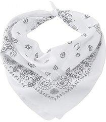bandana blanca bohemia