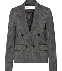 janickaiw blazer blazer colbert grijs inwear
