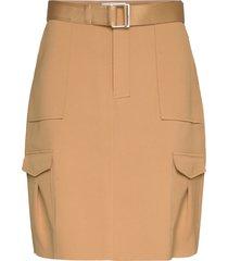 stranda skirt kort kjol brun holzweiler