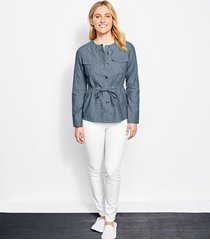 chambray utility jacket