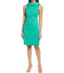 harper rose sleeveless sheath dress, size 12 in green at nordstrom