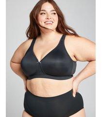 lane bryant women's cool bliss unlined no-wire bra 50c black