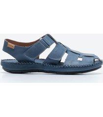 sandalia casual hombre pikolinos s1e6 azul
