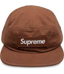 supreme military camp cap - brown