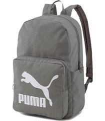 mochila gris puma originals backpack