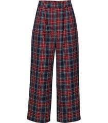 sinclair trousers wijde broek rood just female