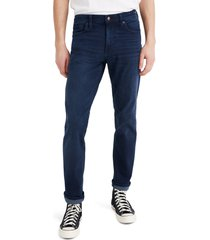 men's madewell straight everyday flex jeans, size 34 x 30 - blue