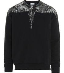 marcelo burlon camou wings sweatshirt
