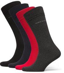 4p rs giftset uni cc underwear socks regular socks multi/mönstrad boss