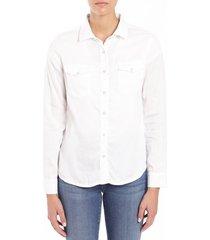 women's mavi jeans elsa button-up blouse