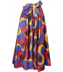 authentic ankara maxi wax skirt