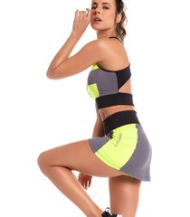 shorts saia bonna forma fitness splash