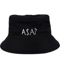 chapéu bucket skull clothing asap - unissex