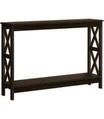 monarch specialties hall console table