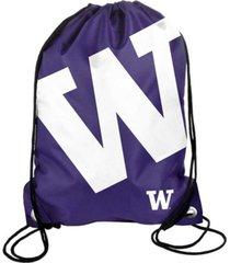 forever collectibles washington huskies big logo drawstring backpack