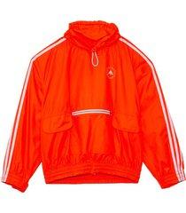 jayla drawstring jacket in fluoro