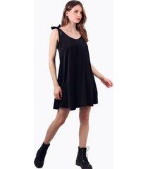 vestido bimba corto negro jacinta tienda