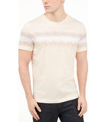 alfani men's blur glass graphic t-shirt, created for macy's