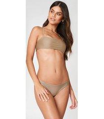 fayt blaze bikini bottoms - beige