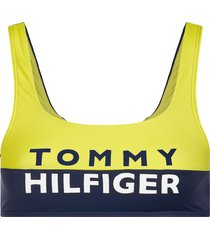 tommy hilfiger bralette bikini top - geel