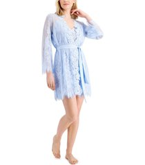 inc lace wrap robe, created for macy's