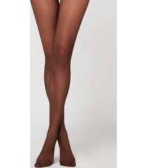 calzedonia 20 denier essential invisible tights woman brown size 4