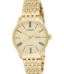 reloj  mechanical dorado citizen