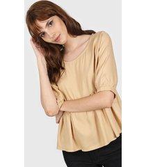 blusa camel nano 2921