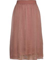 coralsz skirt knälång kjol rosa saint tropez