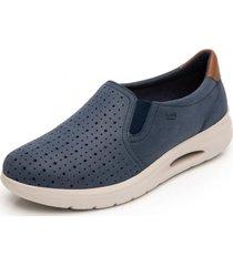 zapato mujer fusili azul flexi