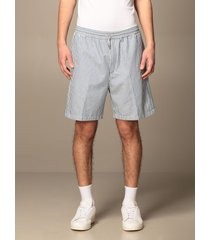 department 5 short collins department five striped cotton bermuda shorts