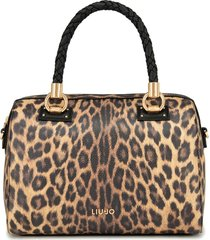 bauletto liu jo manhattan a69024 e0419 leopardo marr