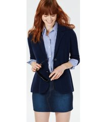 charter club petite cashmere blazer, created for macy's