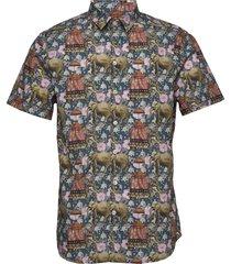 rocha ss shirt kortärmad skjorta multi/mönstrad gabba