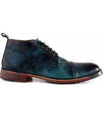 zapato verde briganti hombre percy