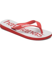 top logomania 2 shoes summer shoes flip flops röd havaianas
