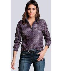 blouse alba moda marine::berry