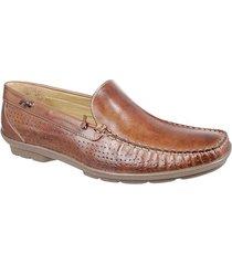 7bc971aa2 sapato casual para pés largos masculino loafer sandro moscoloni coawen  marrom escuro