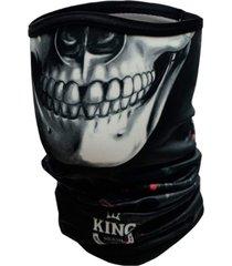 bandana king brasil caveira preto - preto - dafiti