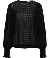 eritapw bl blouse lange mouwen zwart part two