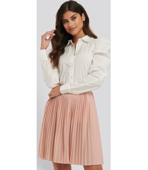 na-kd short pleated skirt - pink