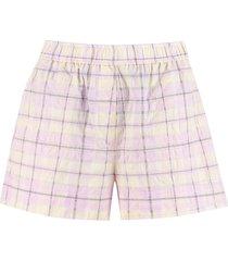ganni high waist shorts