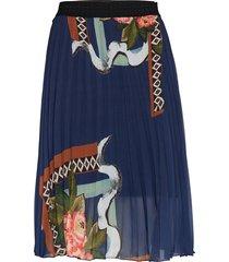 fal fabiola kort kjol blå desigual