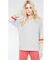 kenny pullover - m heather grey