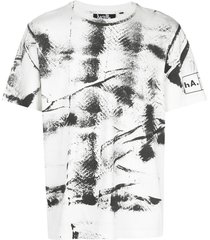 haculla hand painted t-shirt - white