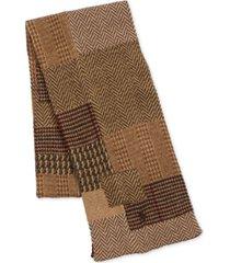 polo ralph lauren men's patchwork plaid scarf