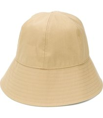 jil sander six-panel bucket hat - neutrals