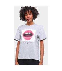 camiseta forum básica boca feminina