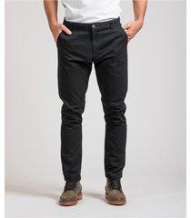 pantalón negro brooksfield chino dante