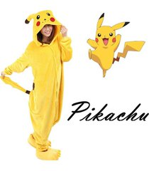 hot fancy dress anime pikachu pokemon onesie cosplay costume kigurumi pajamas